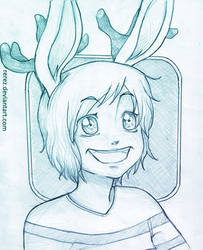 .:Art Request2: Jackie :. by rerez