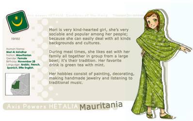 .: APH_ Mauritania :. by rerez
