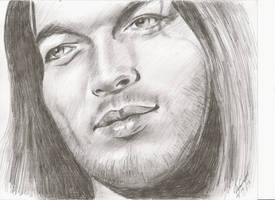 Dave pencil portrait by mozer1a0x