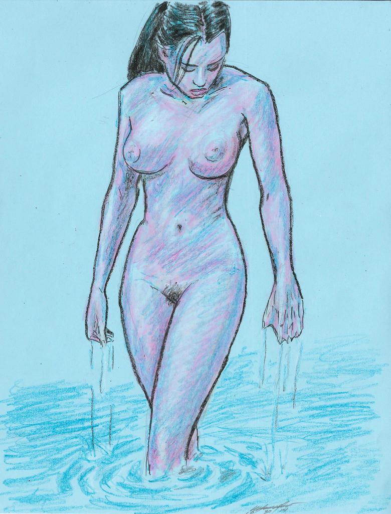 Naiad wading by mozer1a0x