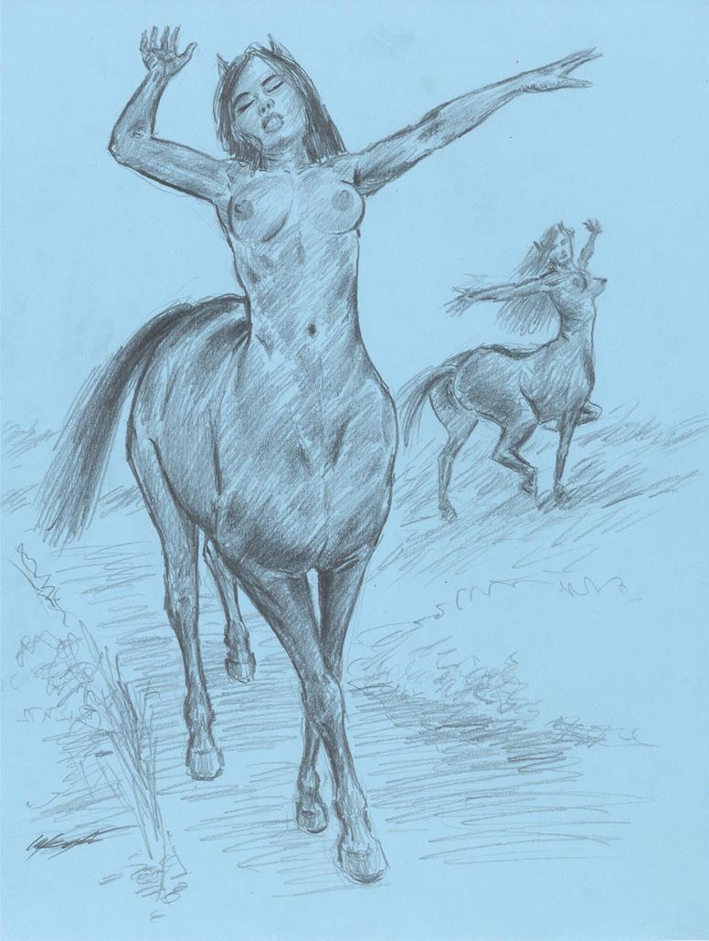 centaur girls moonlight Dances by mozer1a0x