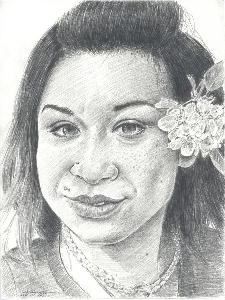 Blinda portrait by mozer1a0x