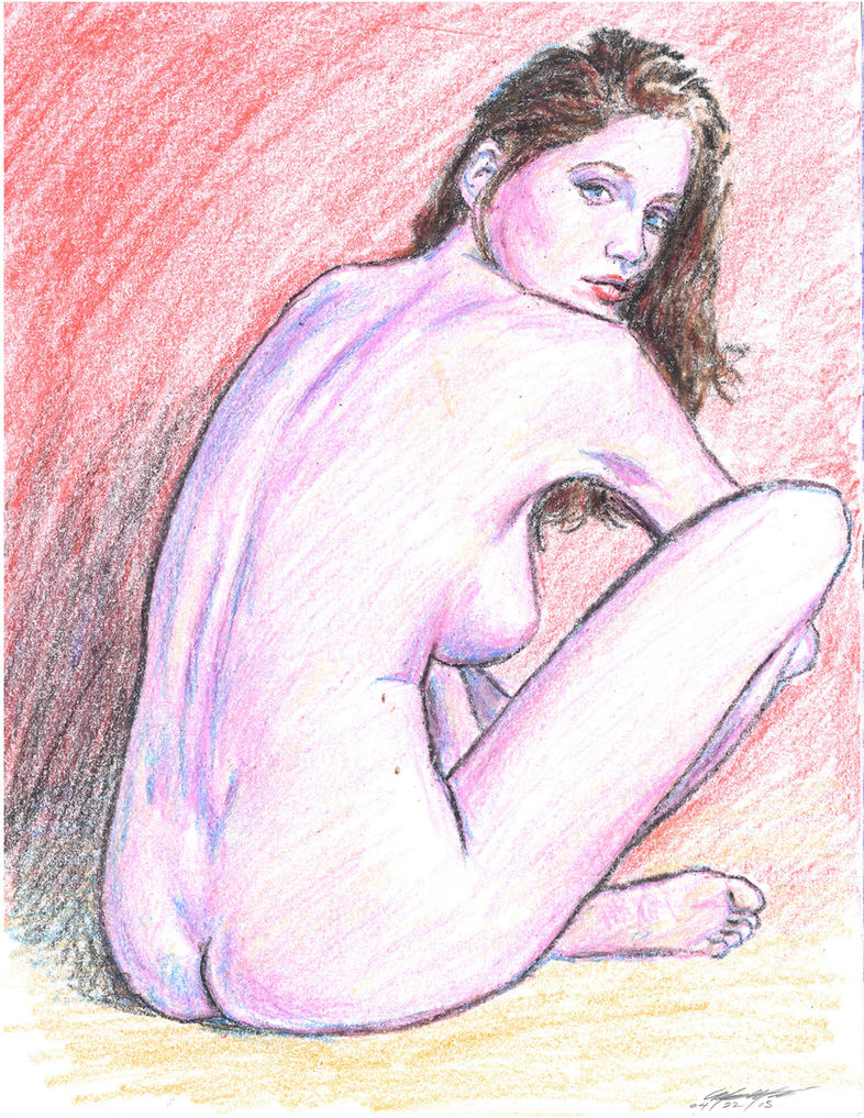 Laeticia Casta nude pink n orange by mozer1a0x