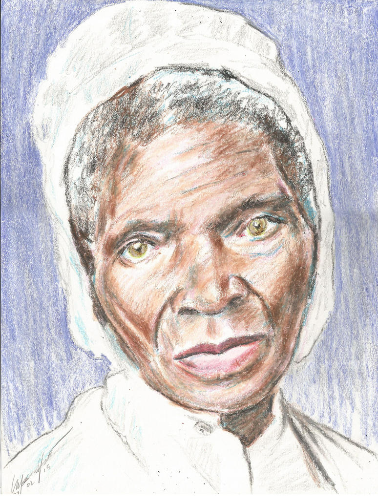 Sojourner Truth portrait by mozer1a0x