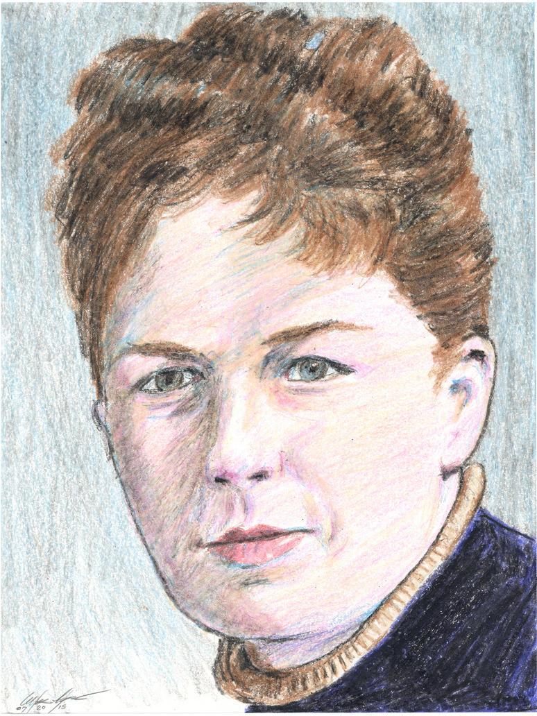 Harriet Stanton Blatch portrait by mozer1a0x
