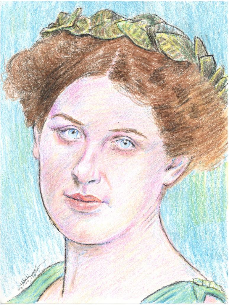 Inez Milholland Biossevian portrait by mozer1a0x
