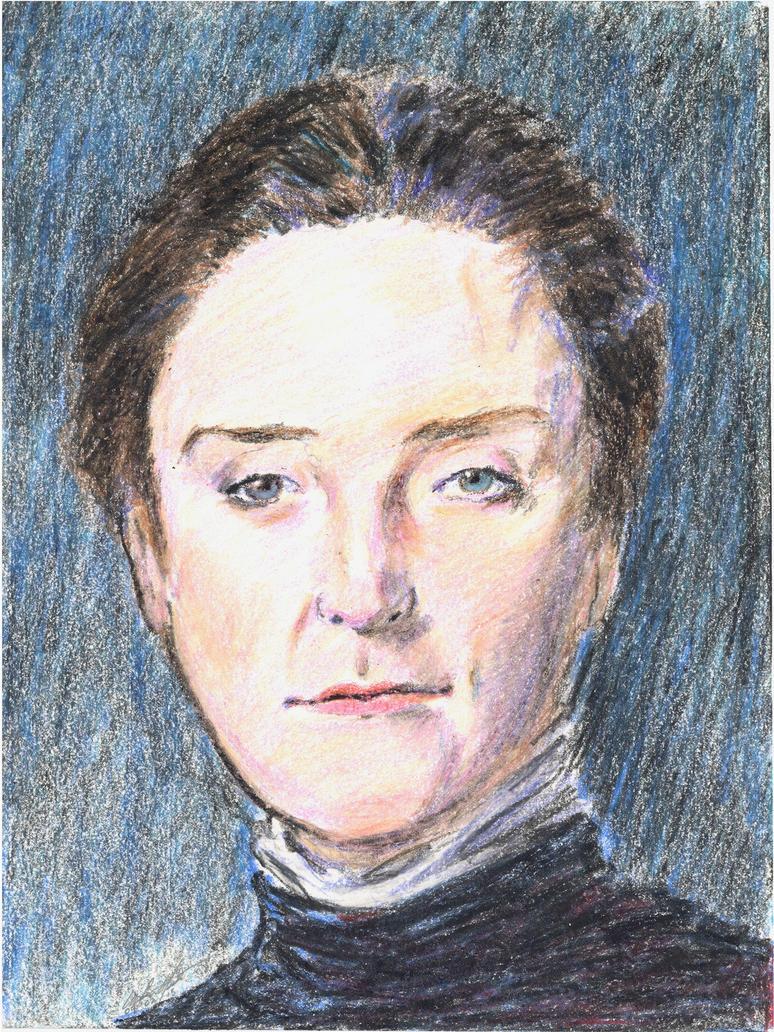Mary Elizabeth Garrett portrait by mozer1a0x