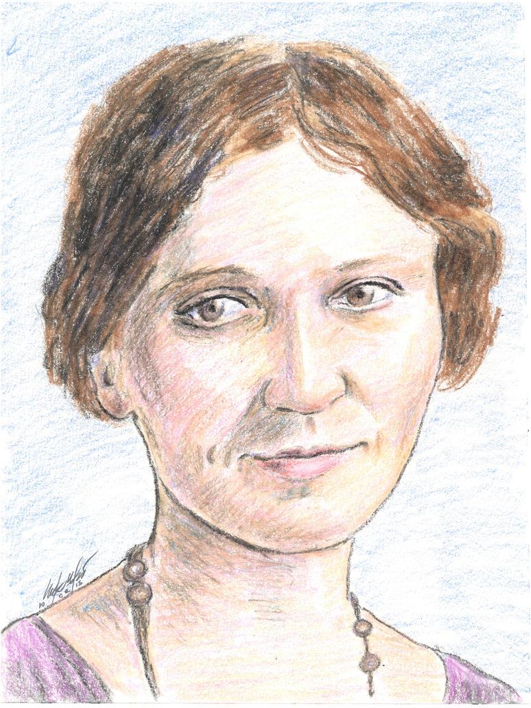 Sue Shelton White portrait by mozer1a0x