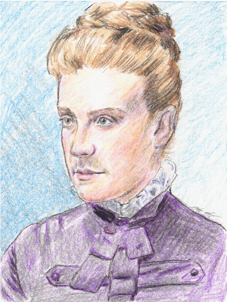 <b>Martha Carey</b> Thomas portrait by mozer1a0x ... - martha_carey_thomas_portrait_by_mozer1a0x-d9d7eol