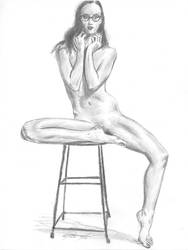 Barstool J K sketch by mozer1a0x