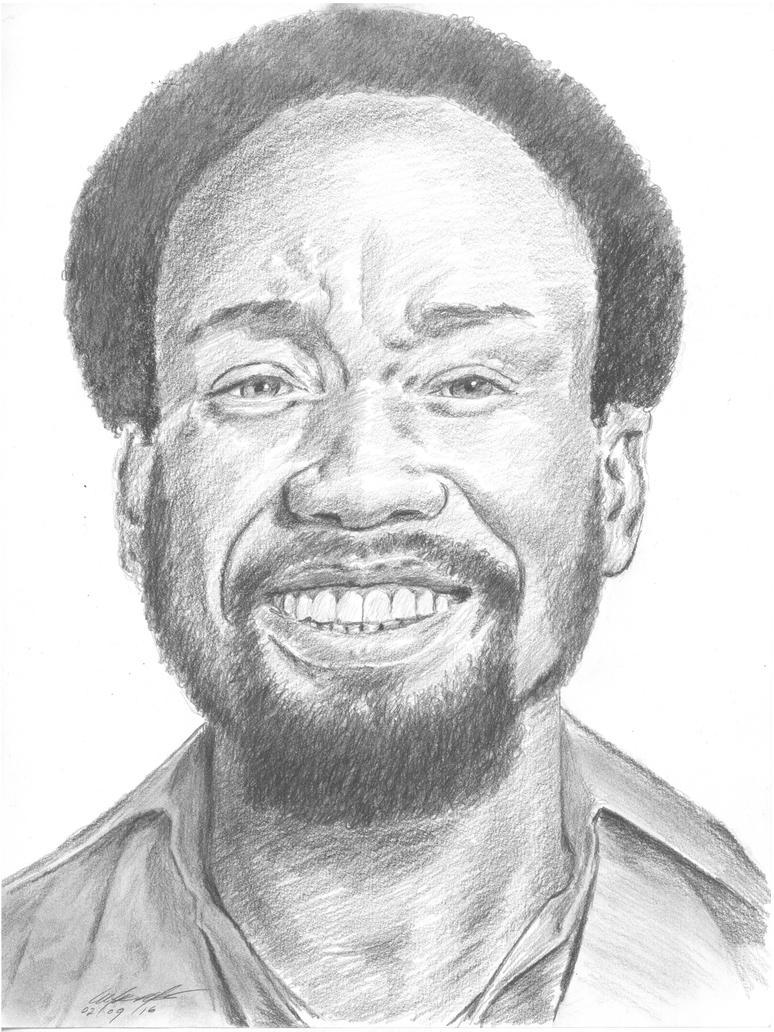 Maurice White portrait by mozer1a0x