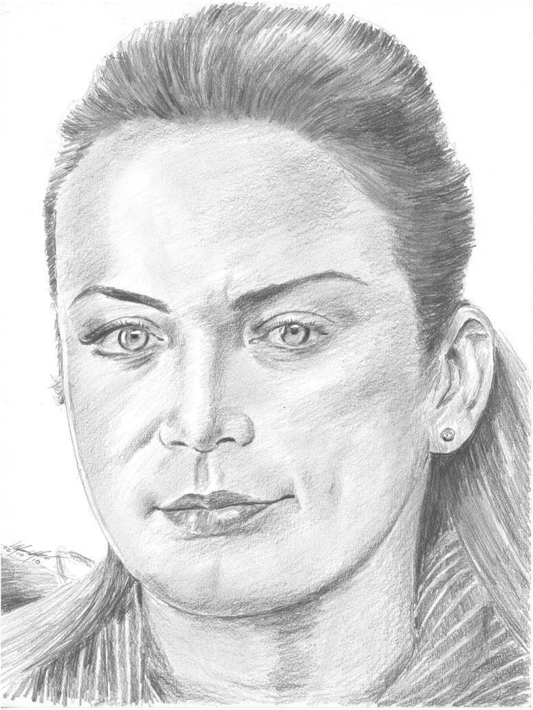 Silvia Navarro portrait by mozer1a0x