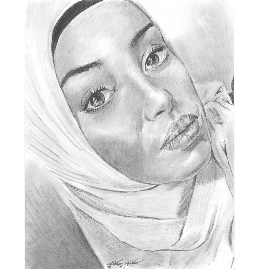 Ahsobbr pencil portrait by mozer1a0x