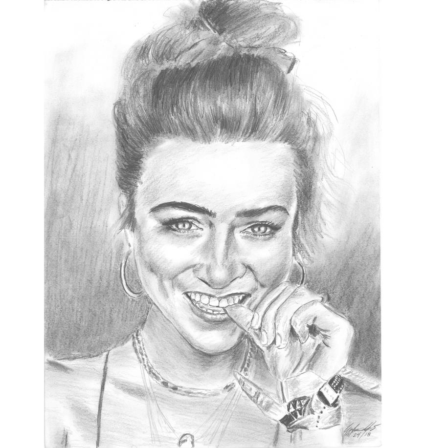 Sam nail nibble portrait by mozer1a0x