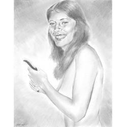 Louise implied nude