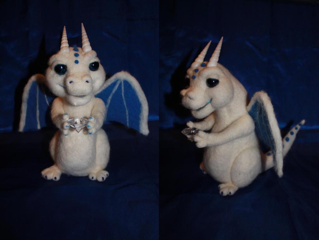 Snow dragon by Blodsravn