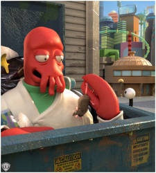 Out To Eat With Zoidberg