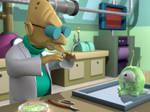 Professor vs Brain Slug