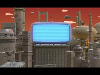 Days of Futurama Past by vikung-fu