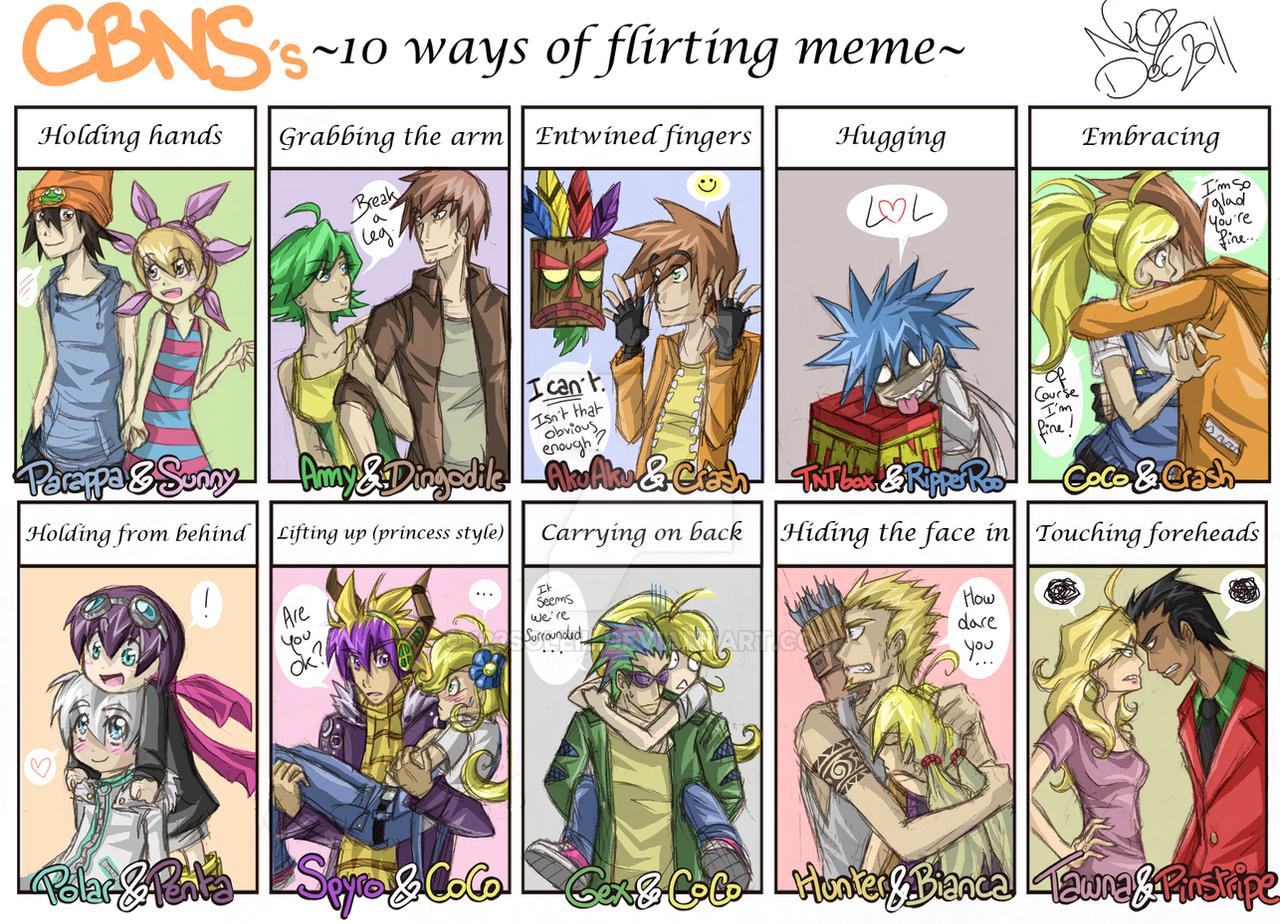 CBNS: Funky Flirt Meme by 123soleil