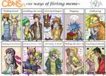 CBNS: Funky Flirt Meme