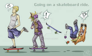 CBNS: Going On a Skateboard Ride