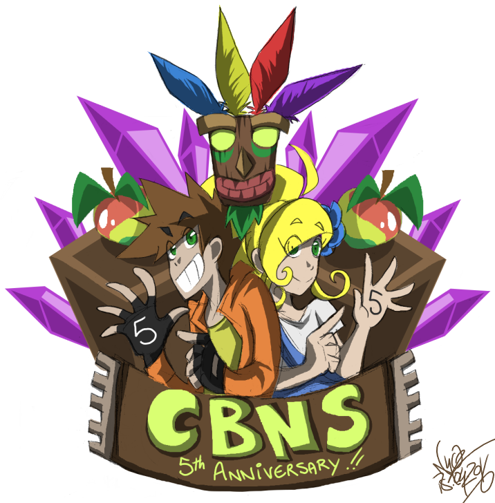 CBNS 5th anniversary by 123soleil