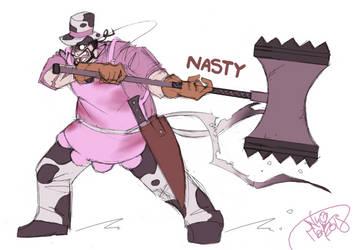 CBNS: Nasty by 123soleil