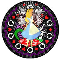 Alice Kh Stained Glass by bummi1