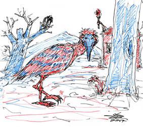 Weird Bird #1