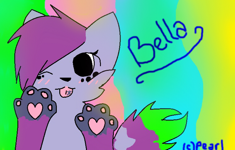 Art Trade with Bella 1 by PearlTheKitty2012