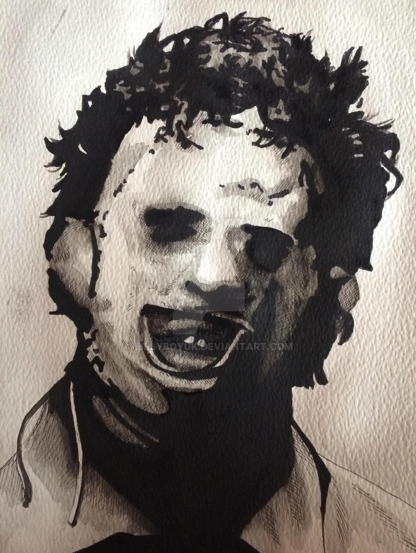 LeatherFace Texas chainsaw massacre art by billyboyuk on ...