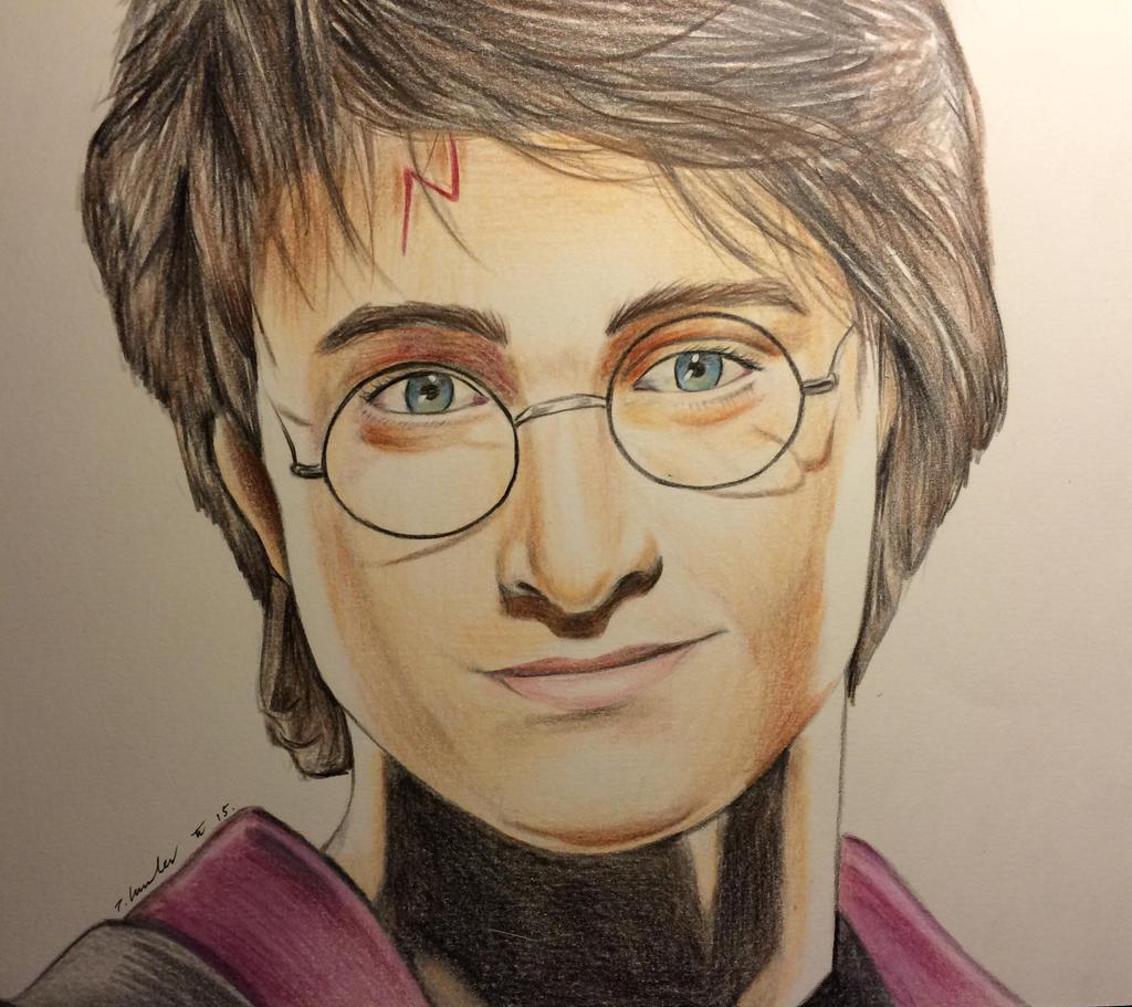 Harry Potter pencil drawing by billyboyuk on DeviantArt