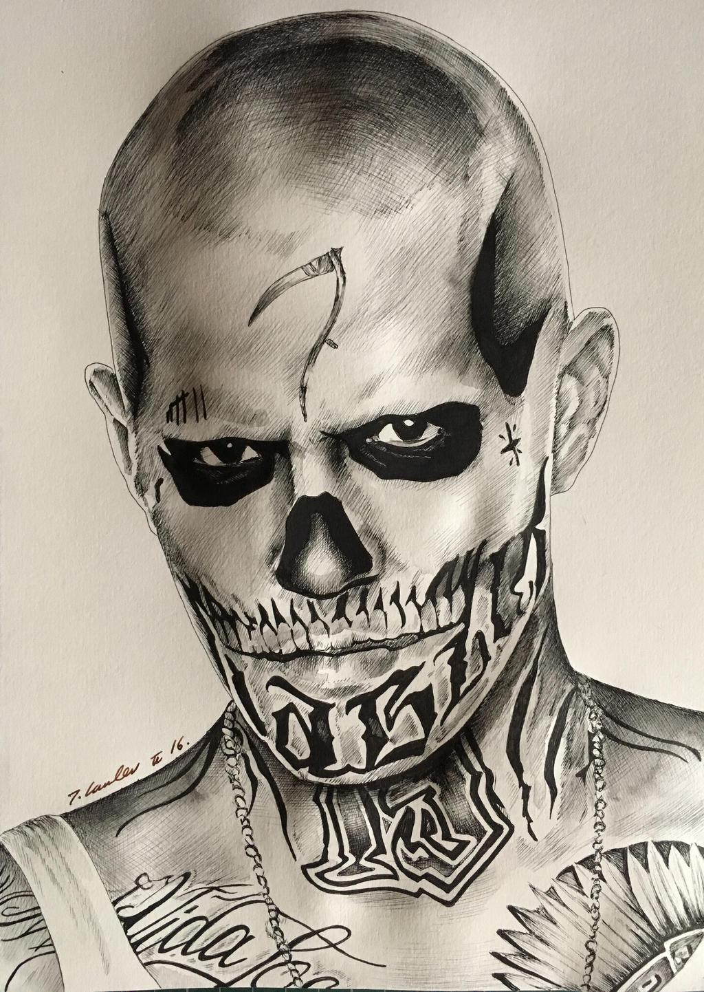 El Diablo Suicide Squad art by billyboyuk on DeviantArt