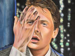 Marty McFly Back to the Future Michael j Fox