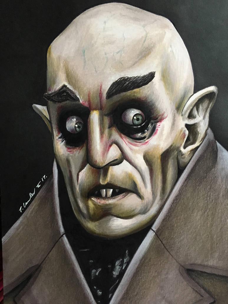 Nosferatu vintage horror movie vampire 1922 by billyboyuk on