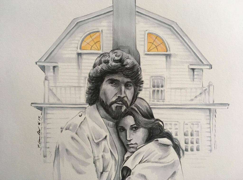 The Amityville Horror Margot Kidder James Brolin by billyboyuk