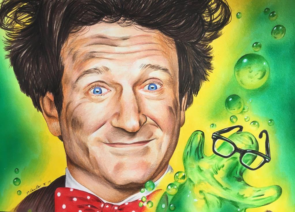 Robin Williams Flubber by billyboyuk
