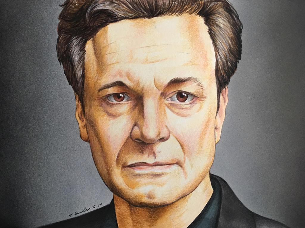 Colin Firth by billyboyuk