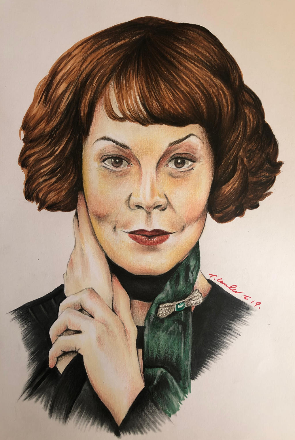 Peaky Blinders Polly Shelby Gray Helen McCrory by ...