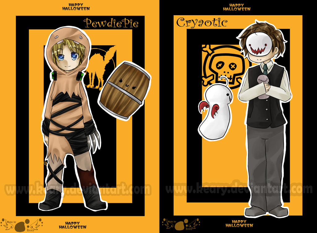 Pewdiecry Halloween by keary