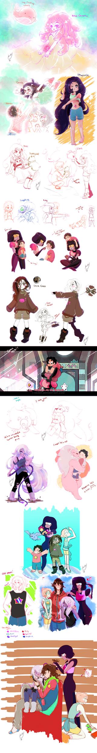 Steven Universe Doodle by keary