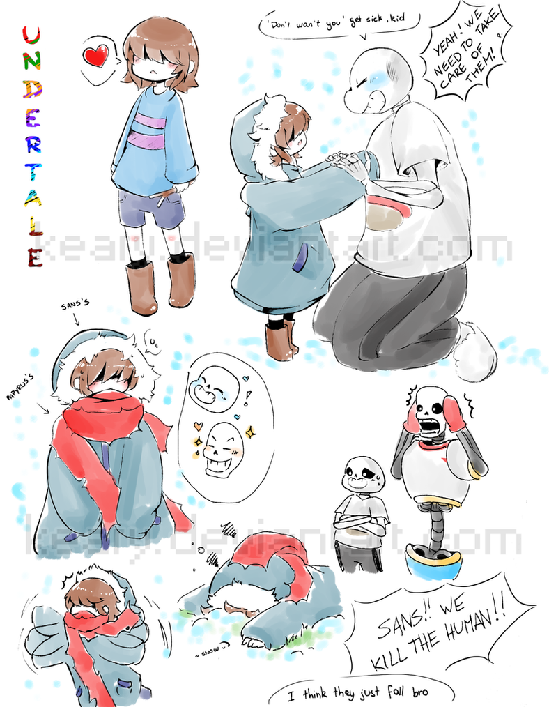 Undertale Sketch 01 By Keary On Deviantart
