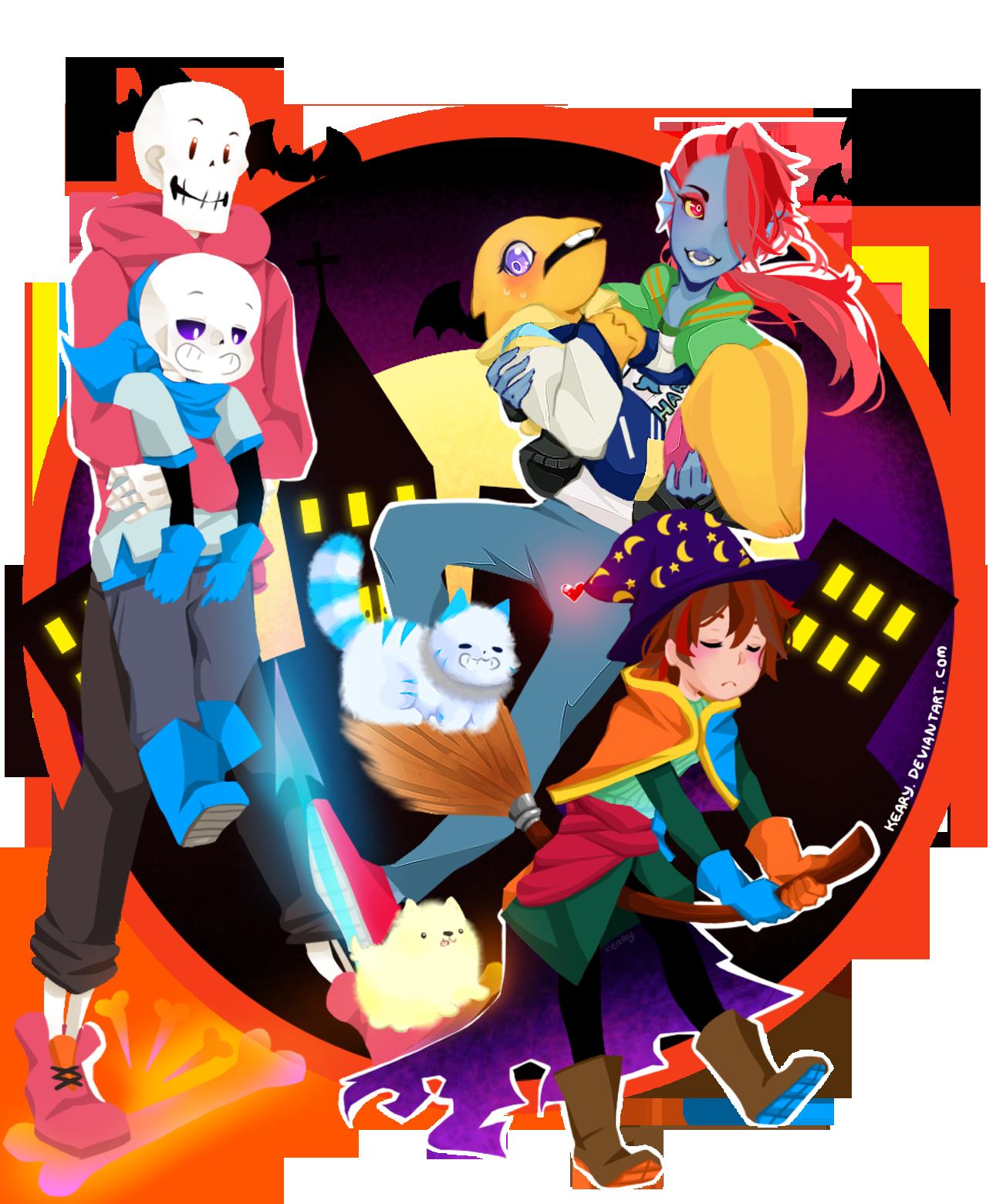 Undertale : Happy halloween by keary on DeviantArt