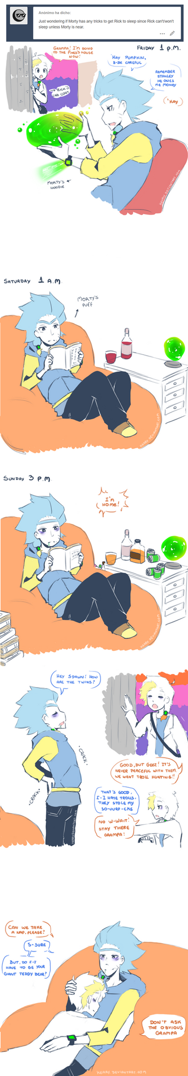 RAM AU: Sleeping problem by keary