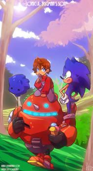 Sonic X AU: Walking outside
