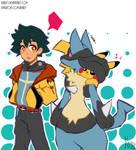 Pokemon: Satoshi and Lucario