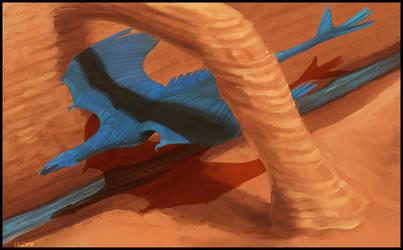 Blue Racer by Silenced-Dreams