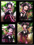 Draculaura Fairy Lili Custom Monster High Doll 2