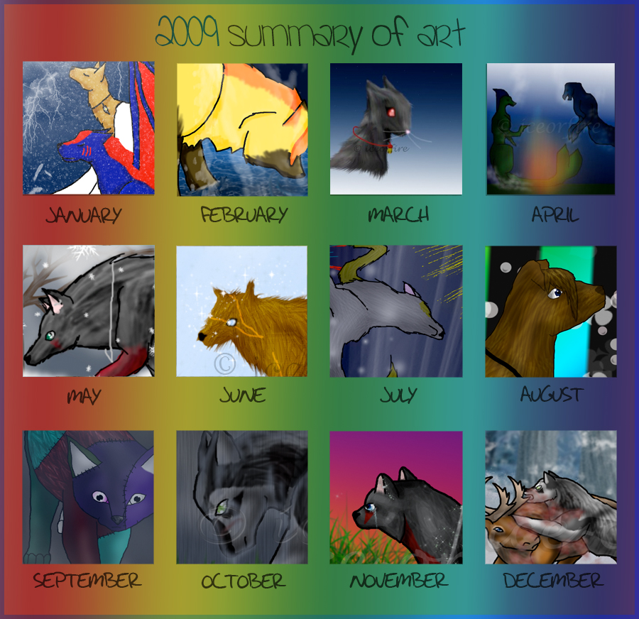 2009 Summary by ice-or-fire